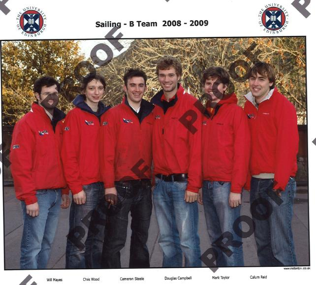 Edinburgh B Team 2008/2009