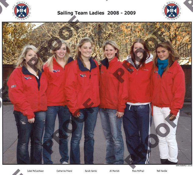 Edinburgh Ladies Team 2008/2009